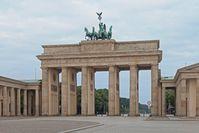 Brandenburger Tor mit der Quadriga
