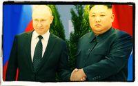 Wladimir Putin und Kim Jong-un (2019)