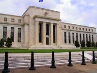 "Das ""Eccles Building"", Hauptsitz der Federal Reserve in Washington, D.C."