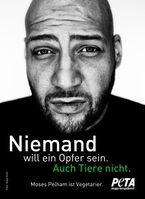 "Autor, Rapper und Musikproduzent Moses Pelham Bild: ""obs/PETA Deutschland e.V."""