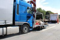 Unfallfoto Bild: Polizei