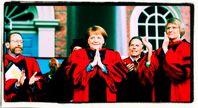 """Anführerin Angela Merkel """"Der Freien Welt"""" wird in den USA gefeiert, lediglich im kleinen Deutschland ist sie nicht ganz so beliebt (2019)"""
