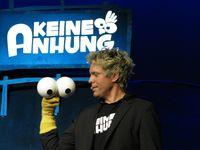 Puppet Comedian Sascha Grammel mit seiner Puppe Außer Rüdiger