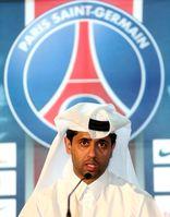 Präsident Nasser Al-Khelaifi vom FC Paris Saint-Germain