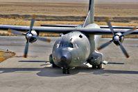 Eine Transall der Bundeswehr beim Start in Afghanistan.....