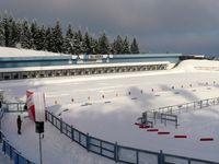 Die DKB-Ski-Arena Oberhof ist ein Biathlonstadion bei Oberhof und liegt auf 814 Meter über Normalnull unmittelbar am Hauptkamm des Thüringer Waldes. Bis 2003 trug es den Namen Biathlonstadion am Rennsteig, bis Dezember 2007 Rennsteig-Arena Oberhof. Seit dem 30. Dezember 2007 ist es nach der Deutschen Kreditbank (DKB) benannt.