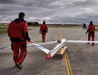 Vorbereitung zum Testflug in Oberpfaffenhofen.