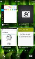 Seitens Secusmart setzt man auf das BlackBerry 10. Hier ein Screenshot des Startbildschirms.
