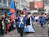 Rheinischer Karnevalsumzug in Koblenz