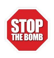 STOP THE BOMB Logo