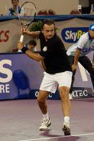 Henri Leconte 2010 bei den AFAS Tennis Classics in Eindhoven