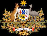 Wappen des Königreiches Australien
