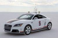 Robo-Raser: nur Menschen fahren besser. Bild: ddl.stanford.edu