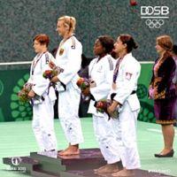Judo-Goldmedaillengewinnerin Martyna Trajdos. Bild DOSB