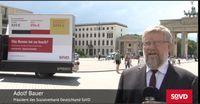 """Adolf Bauer, Präsident des Sozialverbandes Deutschland  Bild: """"obs/SoVD Sozialverband Deutschland/elephantlogic"""""""