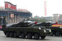 BM25 Musudan Rakete von Nordkorea. Bild: EPA - wikipedia.org