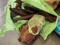 591 Kilogramm nichteinfuhrfähige Fleisch- und Wurstwaren Bild: Zoll