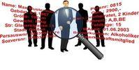 Bürger unter der Lupe: Konzerne profitieren. Bild: pixelio.de/Martin Bergien
