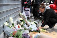 Paris: Vor dem Restaurant Le Petit Cambodge am Tag nach den Anschlägen