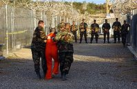 Guantanamo Camp X-Ray Bild: U.S. military or Department of Defense
