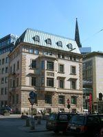 Zentrale der Haspa am Adolphsplatz