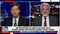 """Der Erfinder der """"mRNA-Impftechnologie"""" Robert Malone (r.) im Fox-News-Interview, nachdem YouTube seine kritischen Einschätzungen zensiert hatte. Informationskontrolle und psychologische Operationen werden in der Corona-Krise von Regierungen mithilfe der Medien zur politischen Steuerung eingesetzt."""