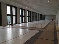 Humboldt Forum: Künftige Ausstellungsflächen im 2. Obergeschoss (August 2018)