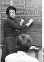 Lehrerin (Symbolbild)