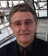 Christoph Strässer in der Reichstagskuppel