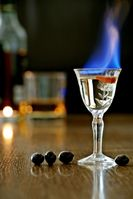 Für Verbraucherschützer einfach wichtig: Wie gut brennt das alkoholische Getränk (=Kalorien)
