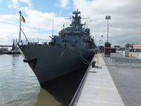 """Fregatte """"Mecklenburg-Vorpommern"""" im Marinestützpunkt Wilhelmshaven"""