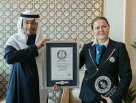 Saudisches Falknerei-Festival bricht neue Guinness-Rekorde