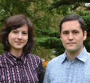 Die Forscher Peter Schaffer und Djamila Aouada aus Luxemburg (c) Universität Luxemburg