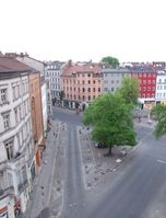 Westseite des Heinrichplatzes in Berlin