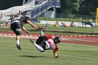 American Football: Sportart gefährdet Gehirn. Bild: pixelio.de, imageworld24