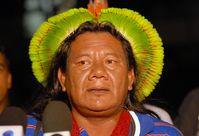 Der Häuptling Akiaboro, oberster Führer aller Kayapo-Dörfer