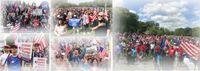 Spontage Pro-Trump Demonstrationen fanden in den USA aber auch u.a. in Israel diese Woche statt (Symbolbild)