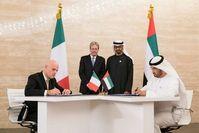 Die Abu Dhabi National Oil Company und Italiens Eni unterzeichnen historische Offshore-Konzessionsverträge