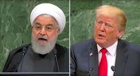 Hassan Rouhani und Donald Trump (2018)