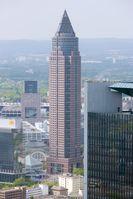 Der Messeturm, Goldman Sachs International Niederlassung Frankfurt.