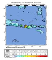 Lombok-Erdbeben vom August 2018
