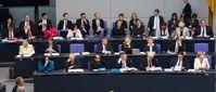 Bundeskabinett: Aktuelle Bundesregierung im Deutschen Bundestag, 2014