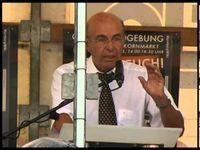 """Screenshot aus dem Youtube Video """"Recht & Freiheit für Gustl Mollath! - Teil2/2 - Protest in Nürnberg - Reden"""""""
