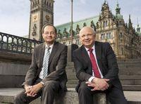 Michael Heinrich und Torsten Meinberg