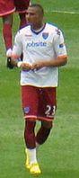 Kevin-Prince Boateng 2010 im Trikot des FC Portsmouth Bild: Glenn Merrett from England / de.wikipedia.org