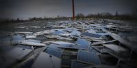 Solarindustrie am Boden (Symbolbild)