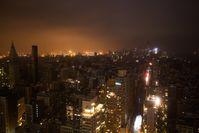 Großeteile von Manhattan waren während des Sturms ohne Strom.