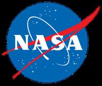 Logo der National Aeronautics and Space Administration (kurz NASA)