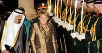 Merkel in Saudi-Arabien (Symbolbild)