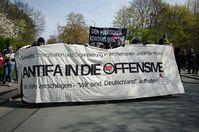 Antifa - Vom Bund bezahlte Schläger gegen Demokratie, Freiheit und Menschenrechte (Symbolbild)